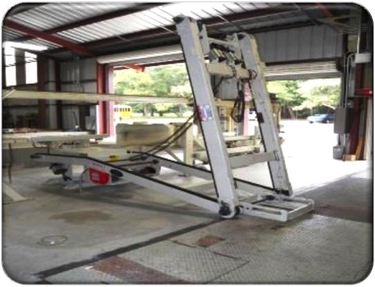 BLC-45F Bale Lift Conveyor