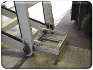 Bale Lift Conveyor Fold-Up Option